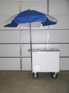 concession equipment ice cream cart