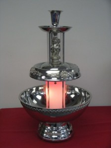 5 gallon beverage fountain