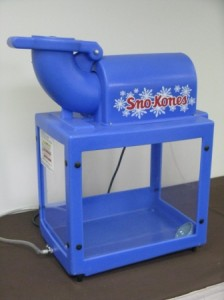 concession equipment sno-cone machine