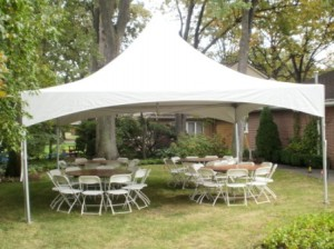 20x20 frame tent graduation party plymouth mi
