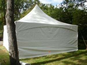 7x20 solid sidewall graduation party livonia mi