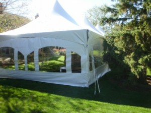 window sidewall frame tent backyard bbq south lyon mi