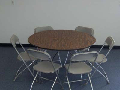 Round party tables for rent 48 round table seats how many
