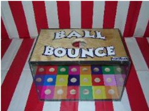 carnival game ball bounce