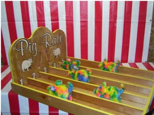 crazy pig race carnival game