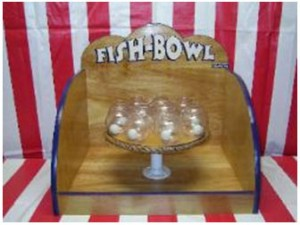 carnival game fish bowl