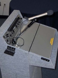 portable floor lecternette