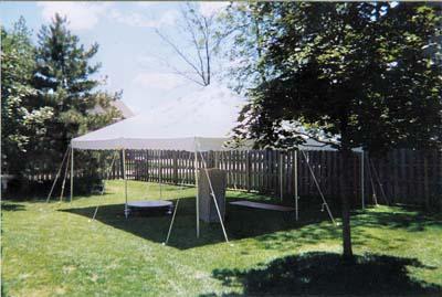 20x20 Canopy Pole Tent