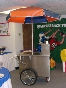 concession equipment hot dog cart