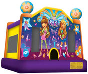its a girl thing bounce house jumper