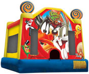 looney tunes bounce house jumper