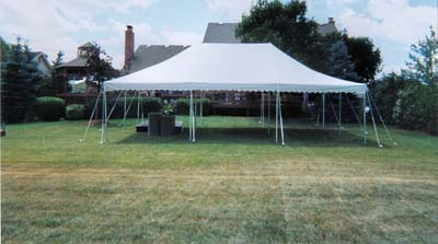 20x30 canopy pole tent novi mi & 20 X 30 Canopy Pole Tent