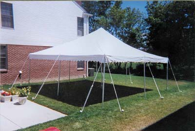 15x15 Canopy Pole Tent