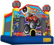racing fun bounce house jumper