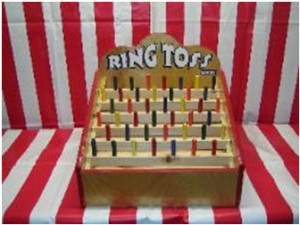 carniaval game ring toss