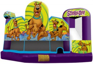 scooby doo 5 in 1 combo bounce house jumper