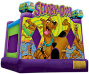 scooby-doo bounce house jumper