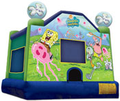 sponge bob bounce house jumper