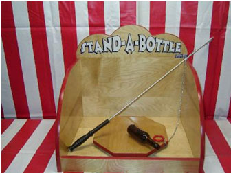 Stand a bottle Homemade games for adults
