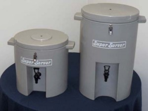 5 gallon and 9 gallon insulated servers
