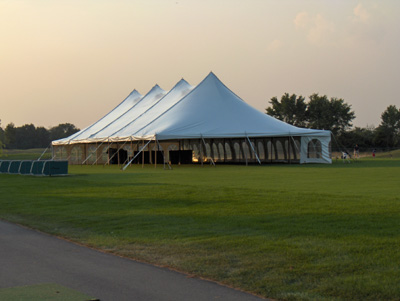 40x100 pole tent wedding south lyon
