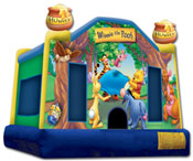 winnie the pooh bounce house jumper