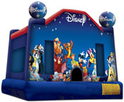 world of disney bounce house jumper