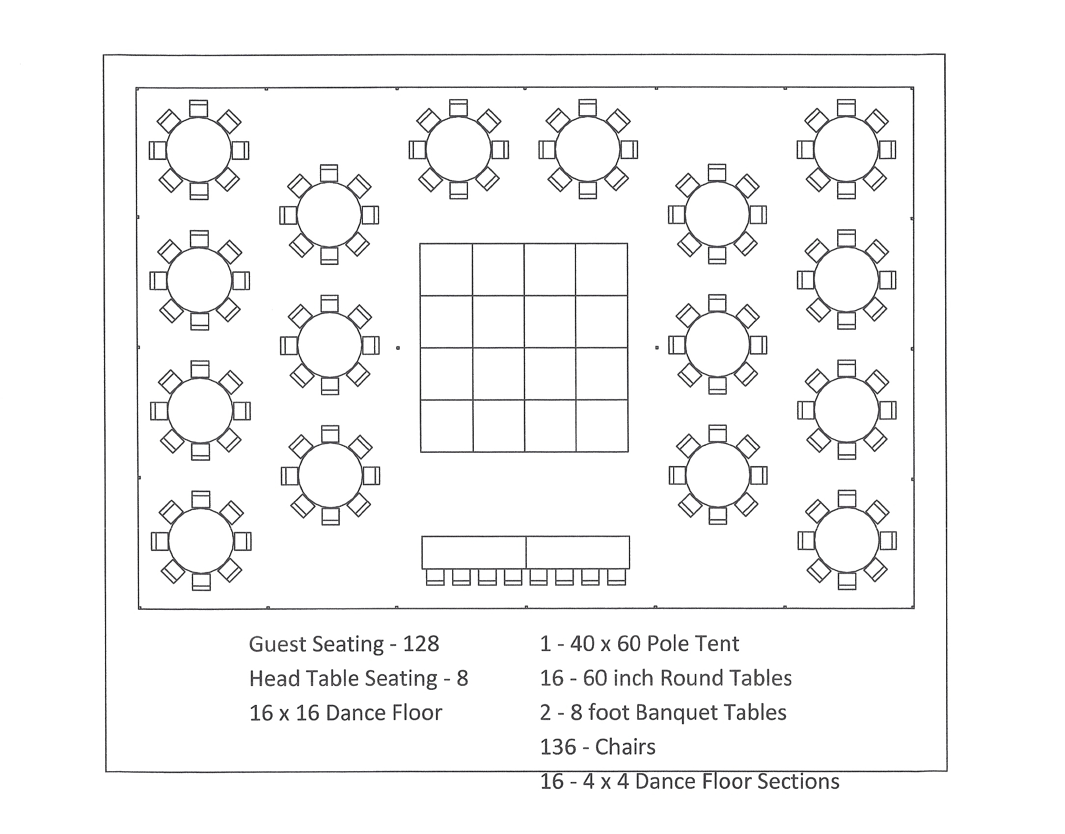 dinner table seating chart template