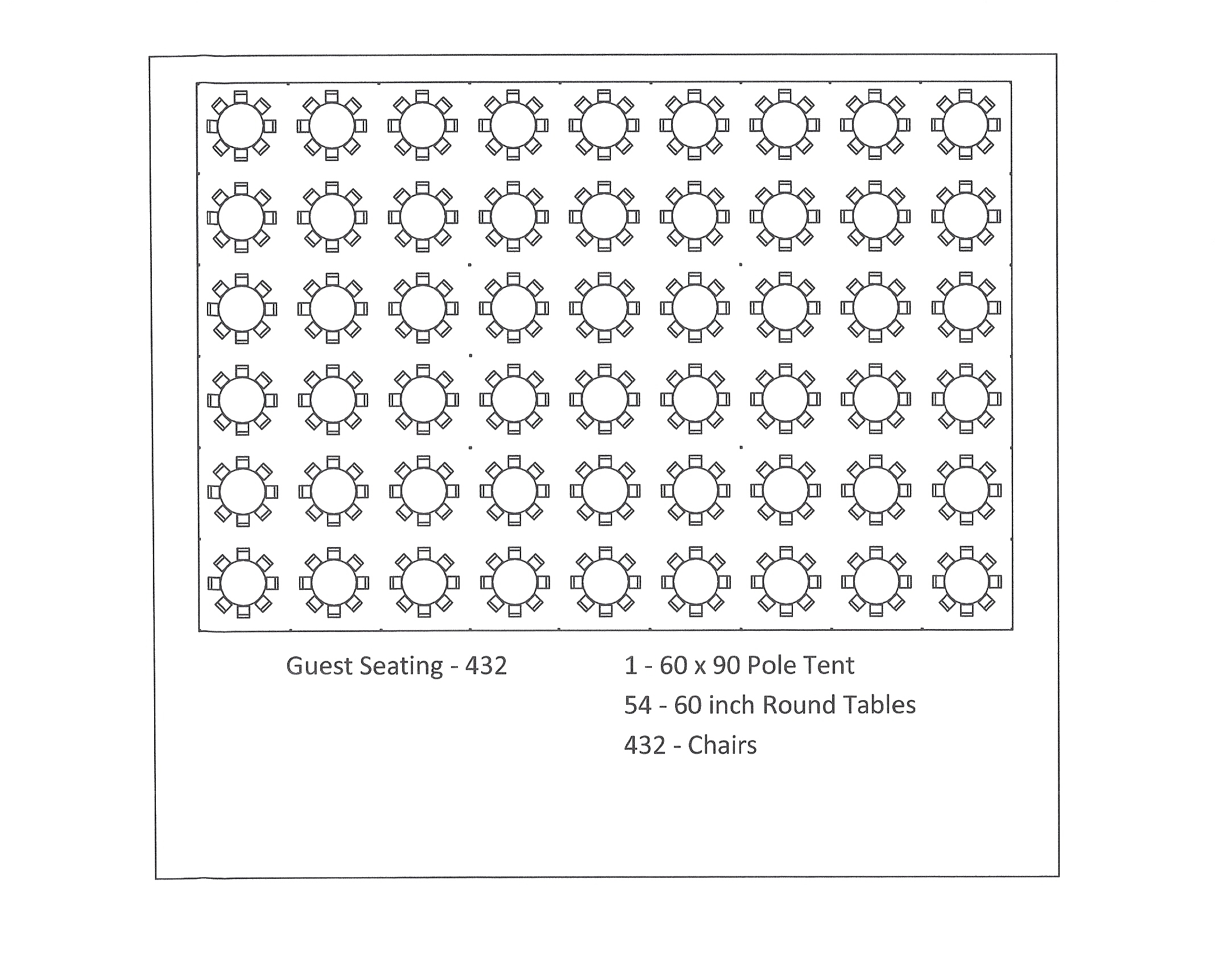 Round table seating capacity 42 round table seats how for 10 person round table seating chart template