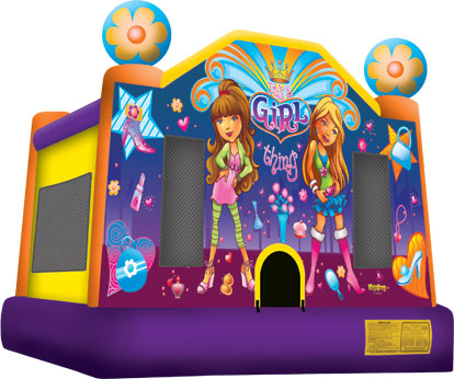 its a girl thing bounce house jumper big
