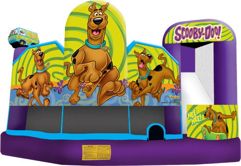 scooby doo 5 in 1 combo bounce house jumper big