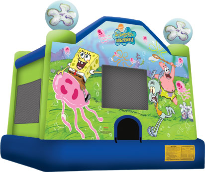 sponge bob bounce house jumper big