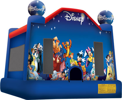 world of disney bounce house jumper big