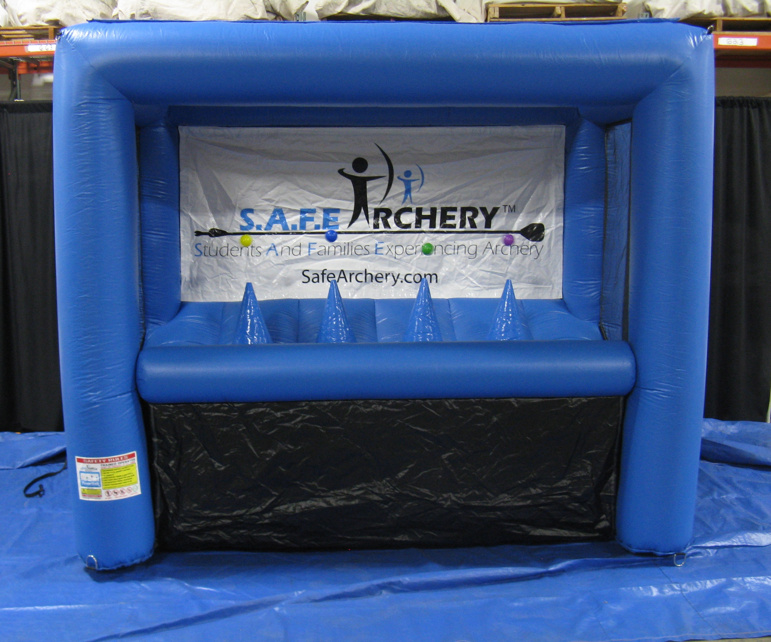 Hoverball Archery Canton Canopy